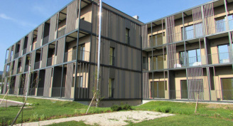 New complex of serviced apartments Mijaks in Bled