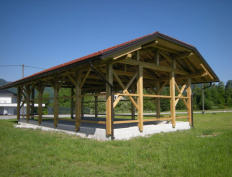 Wood storage barn in Spodnje Gorče, Silvanolin® - Slika 2