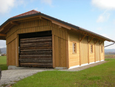 Wood storage barn in Spodnje Gorče, Silvanolin® - Slika 4