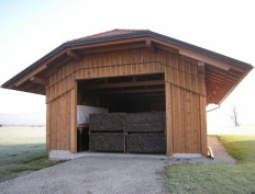 Wood storage barn in Spodnje Gorče, Silvanolin® - Slika 5