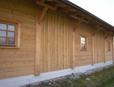 Wood storage barn in Spodnje Gorče, Silvanolin® - Slika 6