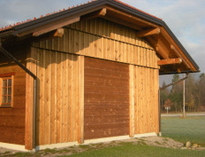 Wood storage barn in Spodnje Gorče, Silvanolin® - Slika 7