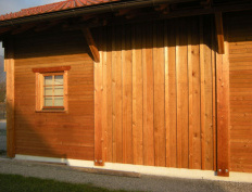 Wood storage barn in Spodnje Gorče, Silvanolin® - Slika 8