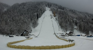 Flying hill in Planica