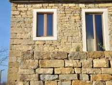 Sustainable Park Istria - windows made of thermally modified spruce - Slika 3