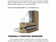 Sustainable Park Istria - windows made of thermally modified spruce - Slika 5