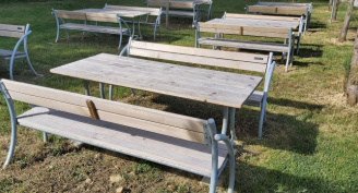 Garden Furniture in the Park Lucija