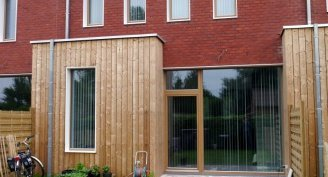 Passive windows made of thermally modified wood Silvapro®